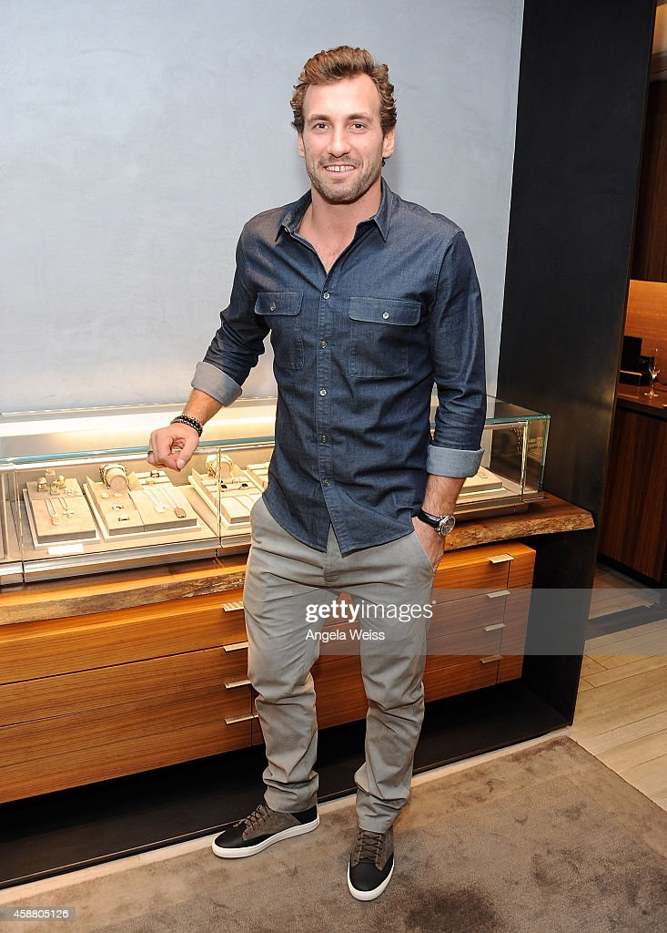 David Yurman With Jarret Stoll Host An In-Store Event To Celebrate The Launch Of The Men's Forged Carbon Collection In Beverly Hills, California