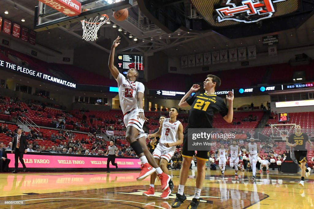 Jarrett Culver #23 of the Texas Tech Red Raiders shoots the ball during the game against the Kennesaw State Owls on December 13, 2017 at United Supermarkets Arena in Lubbock, Texas. Texas Tech defeated Kennesaw State 82-53.