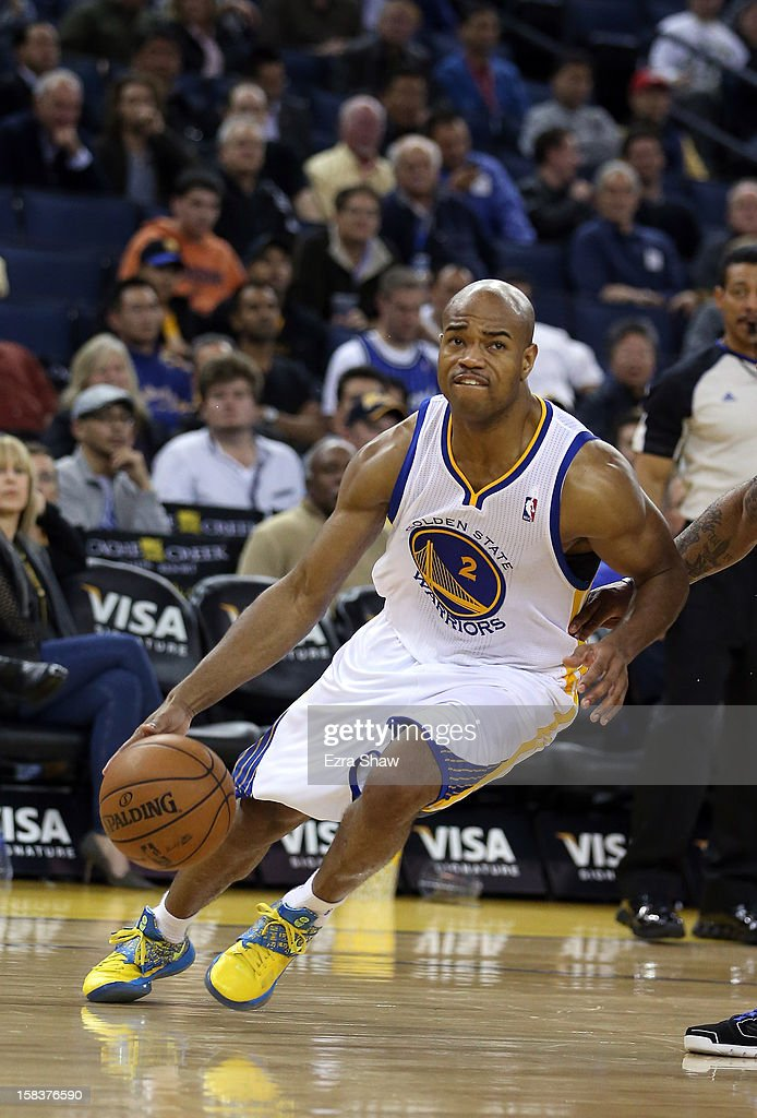 <a gi-track='captionPersonalityLinkClicked' href=/galleries/search?phrase=Jarrett+Jack&family=editorial&specificpeople=208109 ng-click='$event.stopPropagation()'>Jarrett Jack</a> #2 of the Golden State Warriors in action against the Orlando Magic at Oracle Arena on December 3, 2012 in Oakland, California.