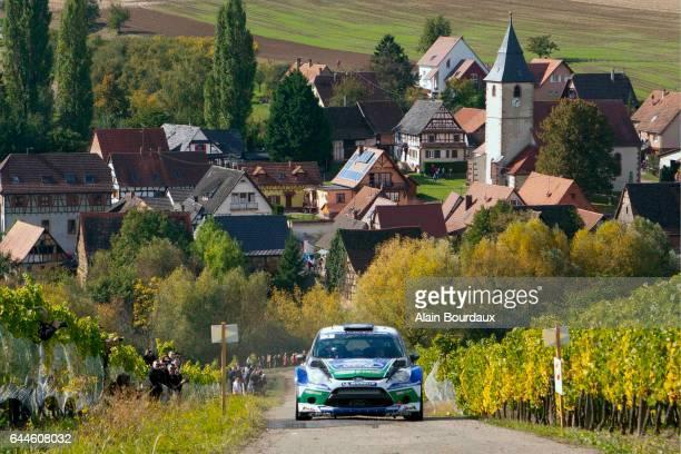 Jarri Matti Latvala Ford Fiesta Rallye de france 2012 Alsace Photo Alain Bourdaux / Icon Sport