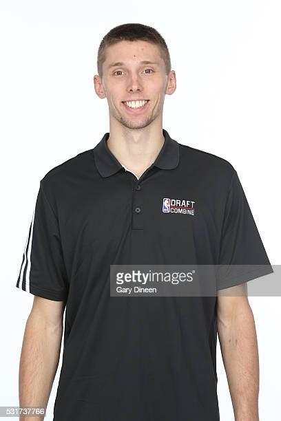 Jarrod Uthoff poses for a medical imaging head shot as part of the 2016 NBA Draft Combine on May 14 2016 at Northwestern Memorial Hospital in Chicago...