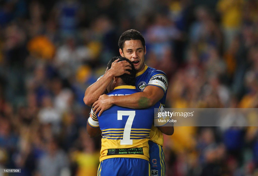 NRL Rd 5 - Eels v Sea Eagles