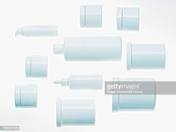 Jars arranged on counter