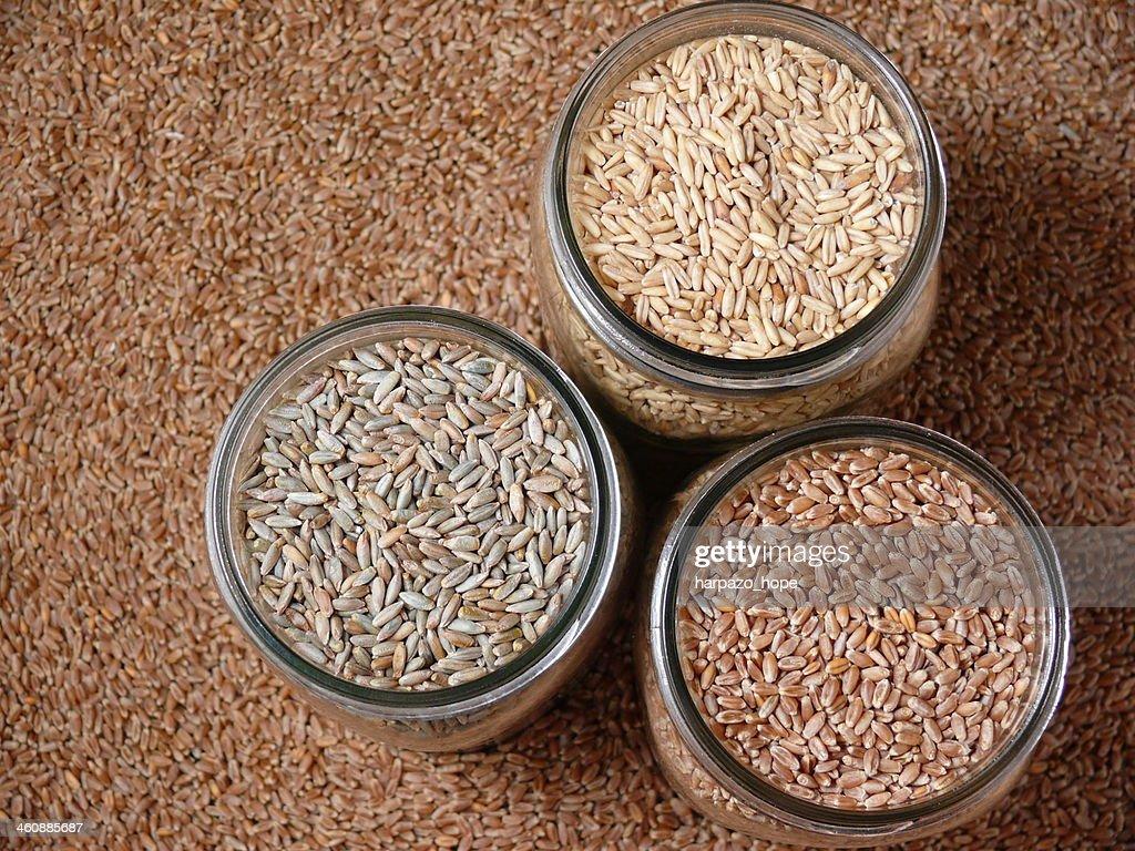 Jars of Grain