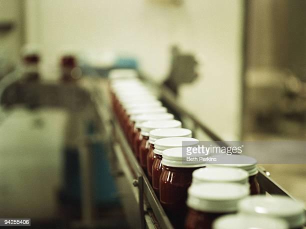 Jars of Sauce