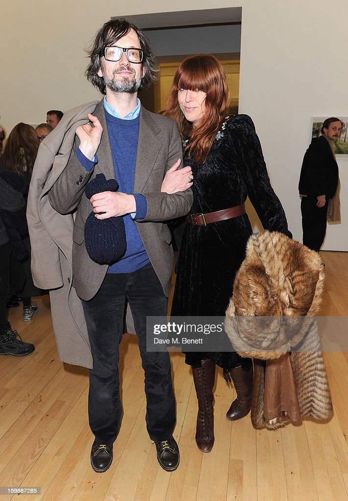<a gi-track='captionPersonalityLinkClicked' href=/galleries/search?phrase=Jarvis+Cocker&family=editorial&specificpeople=234955 ng-click='$event.stopPropagation()'>Jarvis Cocker</a> and Kim Sion attend the private view of Juergen Teller's 'Woo' at ICA on January 22, 2013 in London, England.