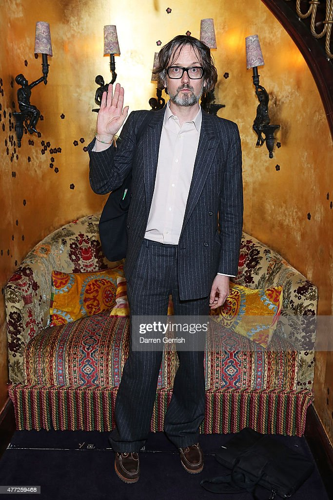 <a gi-track='captionPersonalityLinkClicked' href=/galleries/search?phrase=Jarvis+Cocker&family=editorial&specificpeople=234955 ng-click='$event.stopPropagation()'>Jarvis Cocker</a> attends Anotherman 10th anniversary party at Lou Lou's, 5 Hertford Street, Mayfair on June 15, 2015 in London, England.