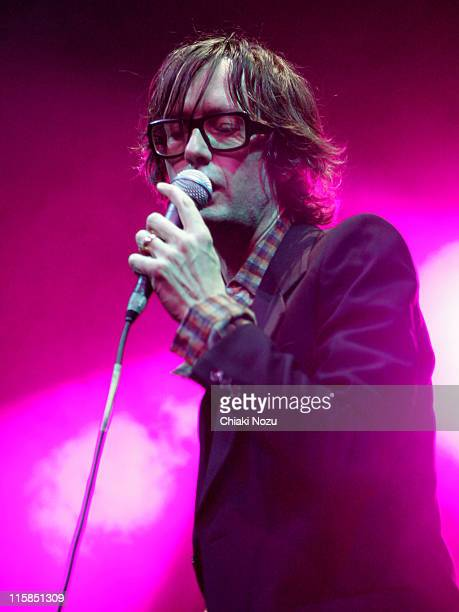 Jarvis Cocker during Jarvis Cocker in Concert at Roundhouse December 16 2006 at Roundhouse in London Great Britain