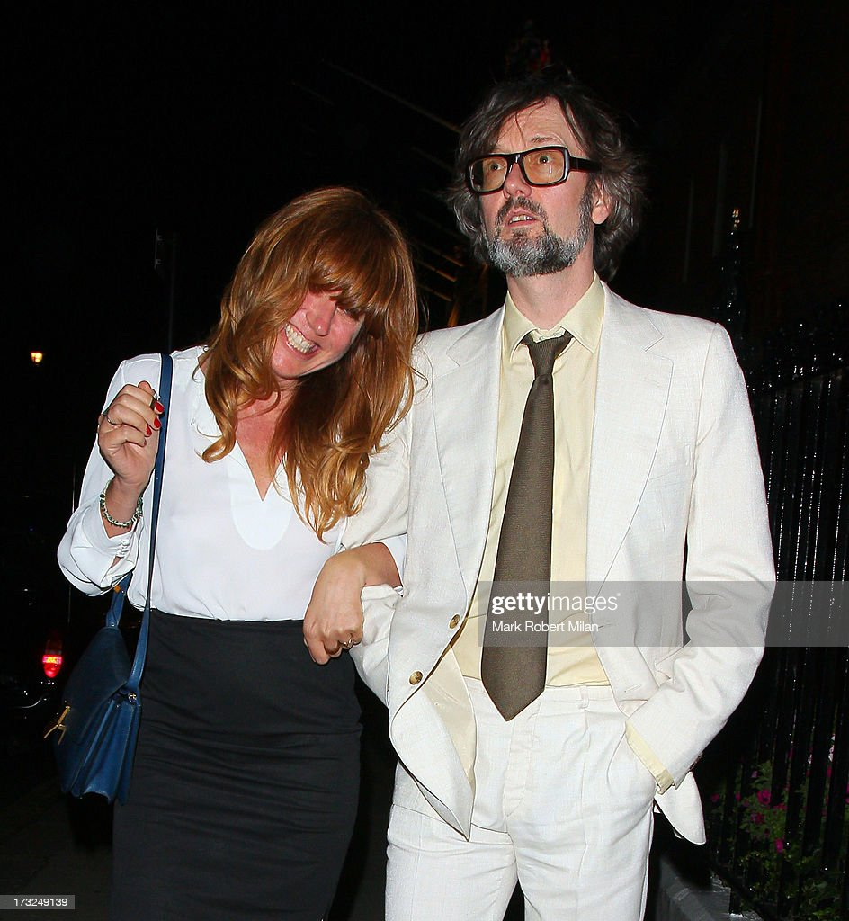 <a gi-track='captionPersonalityLinkClicked' href=/galleries/search?phrase=Jarvis+Cocker&family=editorial&specificpeople=234955 ng-click='$event.stopPropagation()'>Jarvis Cocker</a> leaving Claridges hotel on July 10, 2013 in London, England.