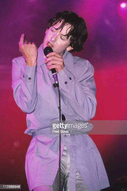 Jarvis Cocker of Pulp during Jarvis Cocker of Pulp DJing at HMV Oxford Street London October 1st 1997 at HMV Oxford Street in London Great Britain