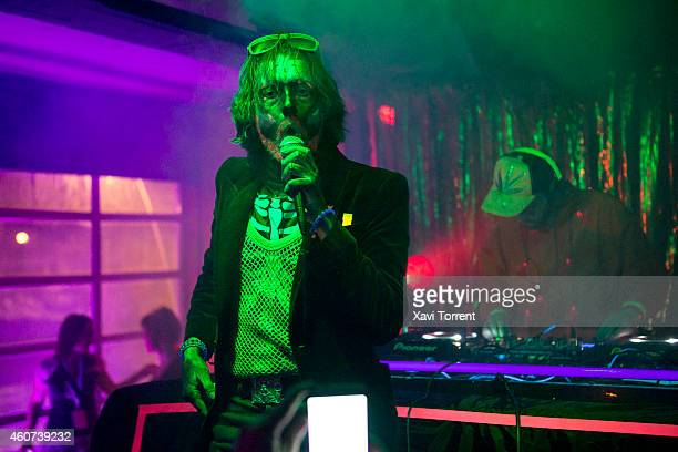 Jarvis Cocker of Relaxed Muscle performs on stage at Razzmatazz on December 21 2014 in Barcelona Spain