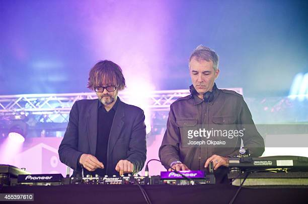 Jarvis Cocker performs on Day 1 of ON Blackheath at Blackheath Common on September 13 2014 in London England