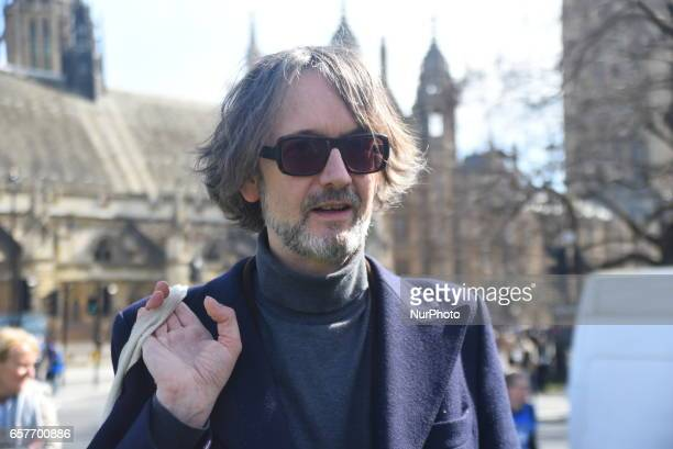 Jarvis Cocker take part in the Unite for Europe march on March 25 2017 in London United Kingdom The British people voted to leave the European Union...