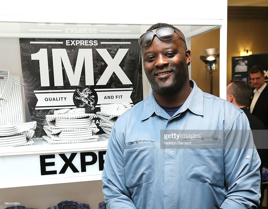 Jarvis Green attends EXPRESS 1MX Ultimate Shirt Shop & 'Welcome to New Orleans' Happy Hour at Hyatt French Quarter Hotel on January 31, 2013 in New Orleans, Louisiana.