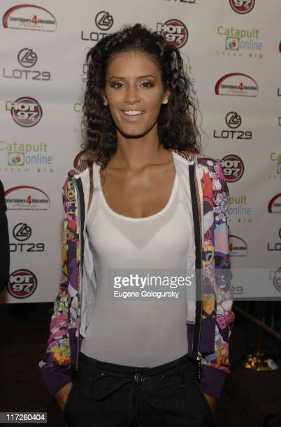 Jaslene Gonzalez arrives at the 2nd Annual Entertainers 4 Education Alliance Stay In School event October 17 2007 in New York City