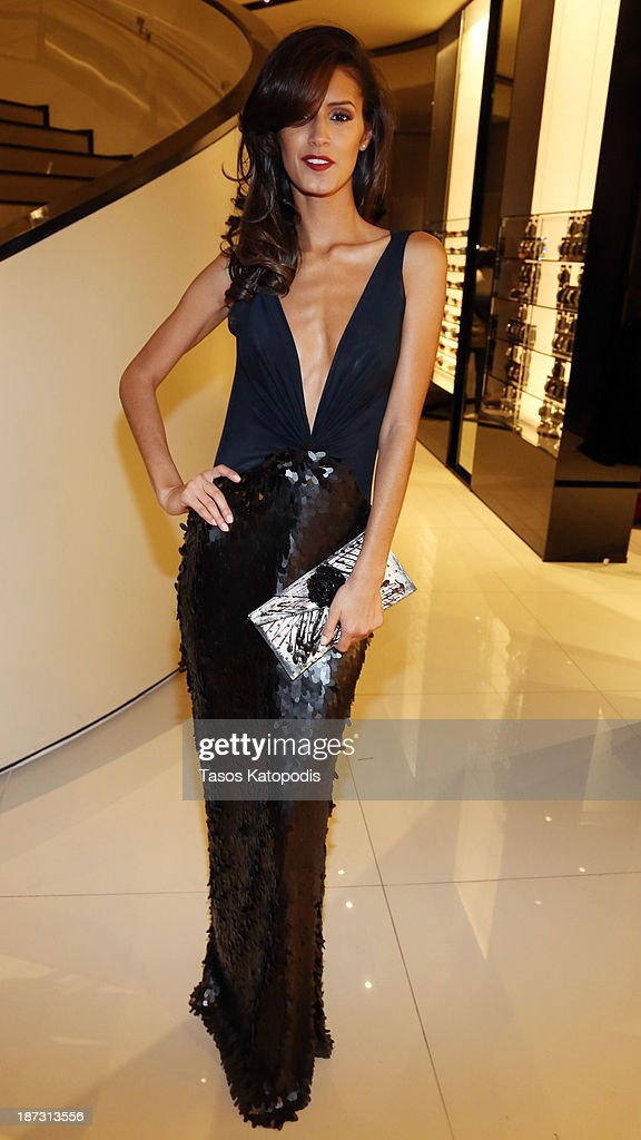 <a gi-track='captionPersonalityLinkClicked' href=/galleries/search?phrase=Jaslene+Gonzalez&family=editorial&specificpeople=4293021 ng-click='$event.stopPropagation()'>Jaslene Gonzalez</a> at the Marie Claire & Emporio Armani Event on November 7, 2013 in Chicago, Illinois.