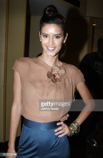 Jaslene Gonzalez attends the 'Get Him To The Greek' VIP screening at the AMC Magic Johnson Harlem on May 27 2010 in New York City