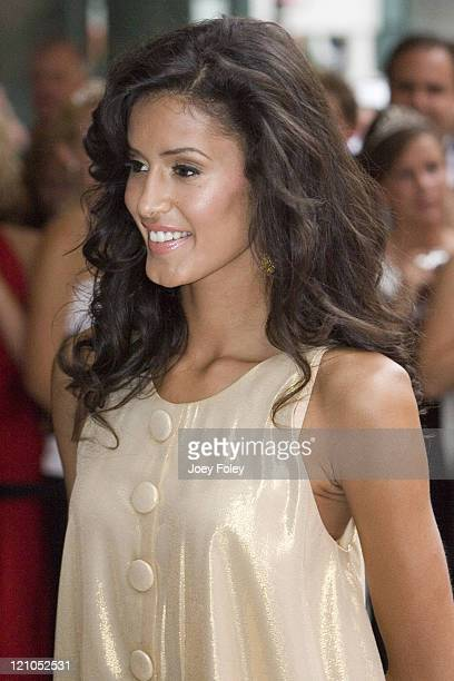 Jaslene Gonzalez during Indianapolis 500 Snakepit Ball Arrivals at Downtown Indianapolis in Indianapolis Indiana United States