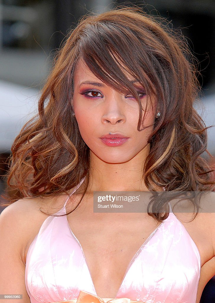 Jasmia Robinson attends the European Premiere of 'Kites' at Odeon West End on May 18, 2010 in London, England.