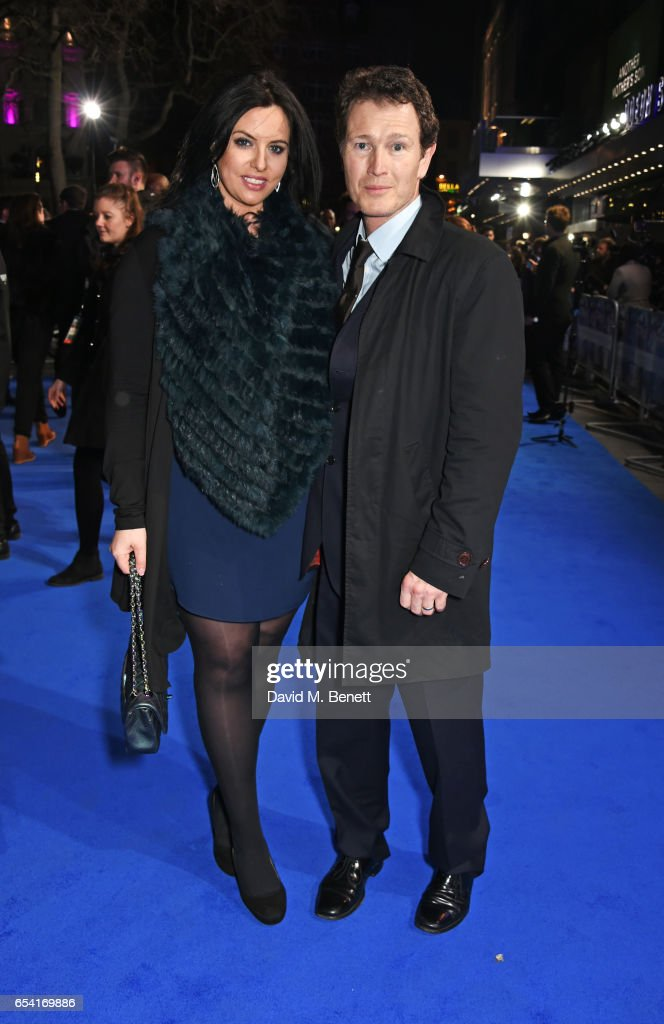 Jasmin Duran (L) and Nick Moran attend the World Premiere of 'Another Mother's Son' on March 16, 2017 in London, England.