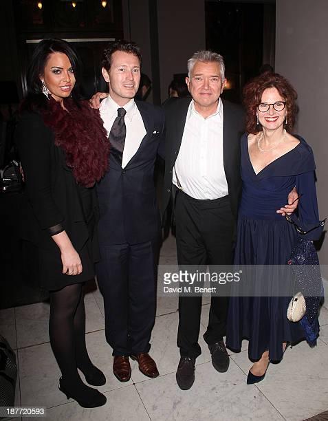 Jasmin Duran Nick Moran Martin Shaw and Karen Da Silva attend an after party following the press night performance of 'Twelve Angry Men' on November...