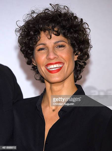 Jasmin Gerat attends a photocall of 'The Team' at Ehemaliges Hauptzollamt on January 21 2015 in Hamburg Germany