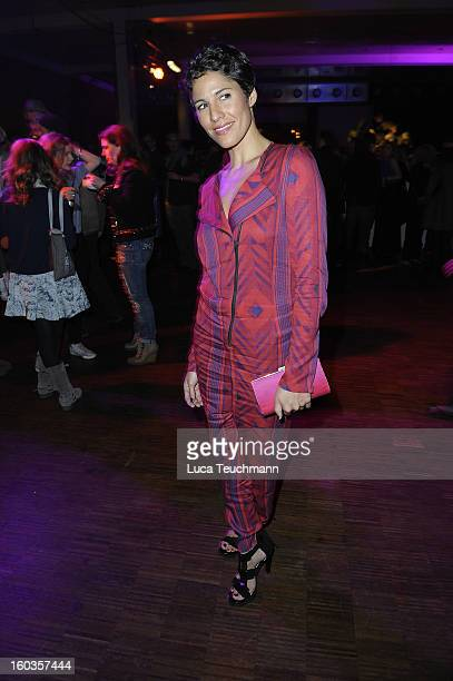Jasmin Gerat attends the after show party to 'Kokowaeaeh 2' Germany Premiere at Astra on January 29 2013 in Berlin Germany