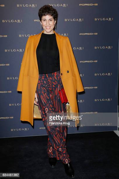 Jasmin Gerat attends the Bulgari 'Night of the Legend' event during the 67th Berlinale International Film Festival on February 9 2017 in Berlin...