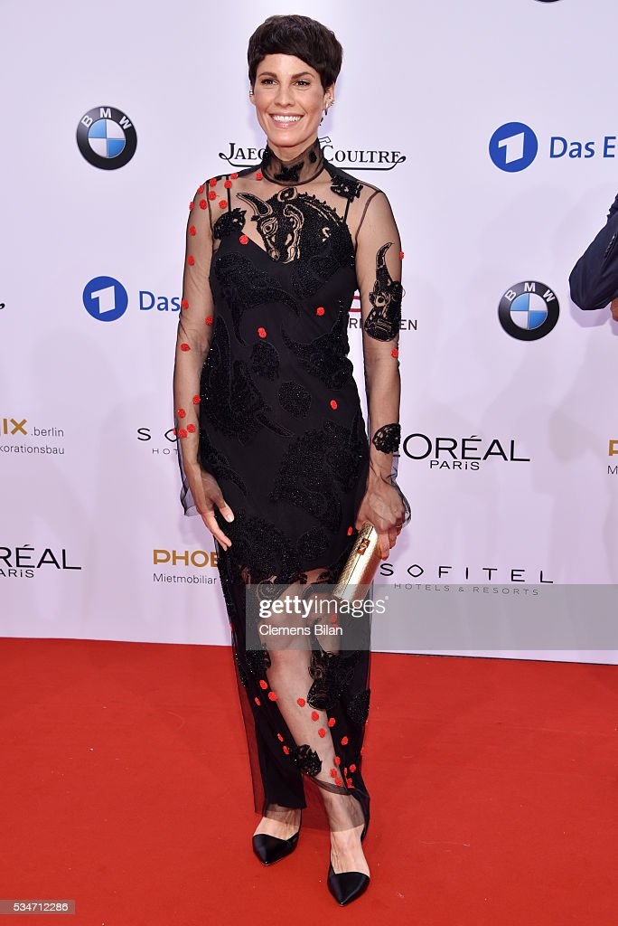 <a gi-track='captionPersonalityLinkClicked' href=/galleries/search?phrase=Jasmin+Gerat&family=editorial&specificpeople=2079764 ng-click='$event.stopPropagation()'>Jasmin Gerat</a> attends the Lola - German Film Award (Deutscher Filmpreis) on May 27, 2016 in Berlin, Germany.