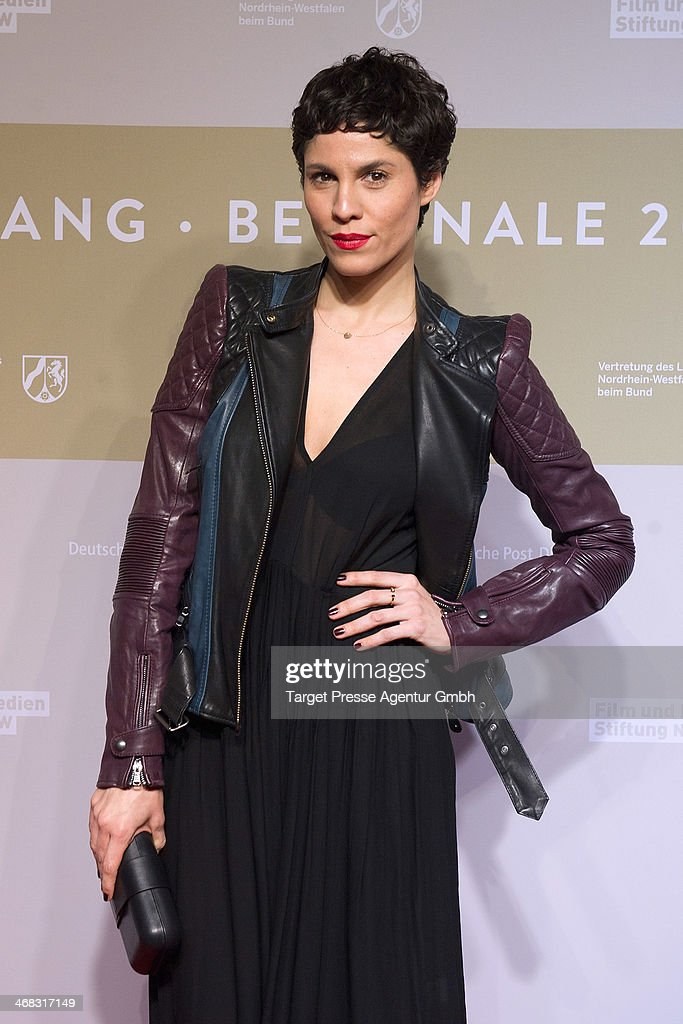 <a gi-track='captionPersonalityLinkClicked' href=/galleries/search?phrase=Jasmin+Gerat&family=editorial&specificpeople=2079764 ng-click='$event.stopPropagation()'>Jasmin Gerat</a> attends the NRW Reception at the Landesvertretung on February 9, 2014 in Berlin, Germany.