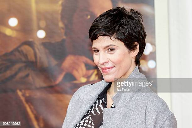 Jasmin Gerat attends the 'Off Duty' German Premiere on February 03 2016 in Berlin Germany
