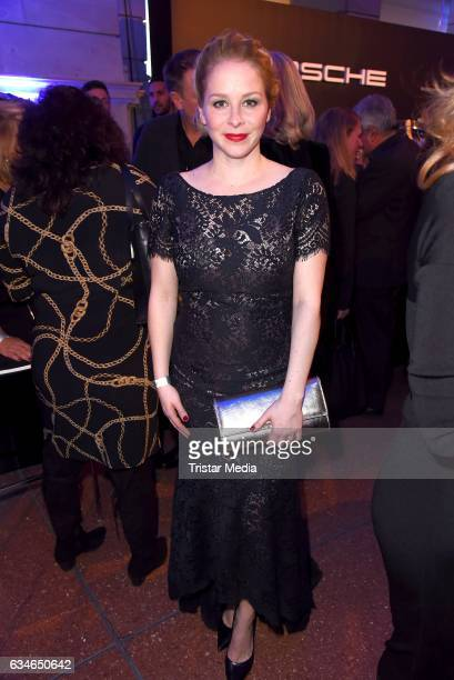 Jasmin Schwiers attends the Blue Hour Reception hosted by ARD during the 67th Berlinale International Film Festival Berlin on February 10 2017 in...