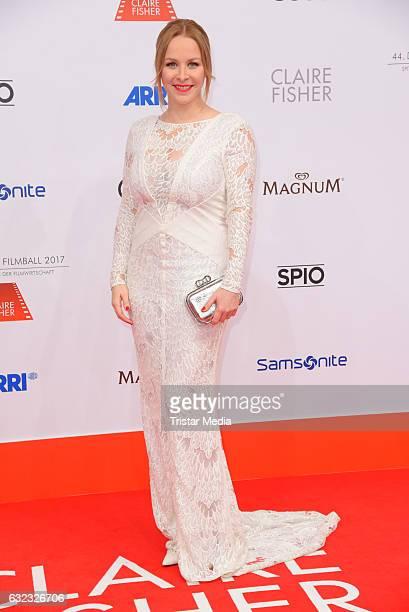 Jasmin Schwiers attends the German Film Ball 2017 at Hotel Bayerischer Hof on January 21 2017 in Munich Germany