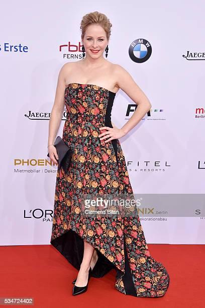 Jasmin Schwiers attends the Lola German Film Award on May 27 2016 in Berlin Germany