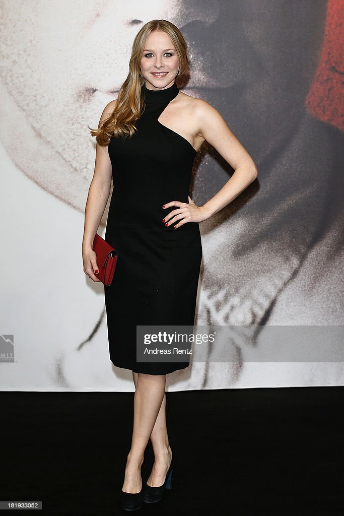 Jasmin Schwiers attends the 'Prisoners' Germany Premiere at Sony Centre on September 26, 2013 in Berlin, Germany.