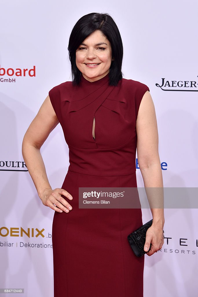 <a gi-track='captionPersonalityLinkClicked' href=/galleries/search?phrase=Jasmin+Tabatabai&family=editorial&specificpeople=243154 ng-click='$event.stopPropagation()'>Jasmin Tabatabai</a> attends the Lola - German Film Award (Deutscher Filmpreis) on May 27, 2016 in Berlin, Germany.