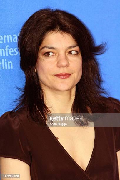 Jasmin Tabatabai during 57th Berlin International Film Festival Fay Grim Photocall at Grand Hyatt Hotel in Berlin Berlin Germany