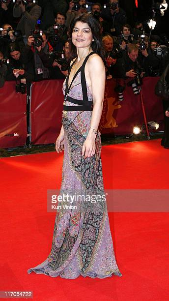 Jasmin Tabatabai during The 57th Annual Berlinale International Film Festival Opening Ceremony and 'La Vie en Rose' Premiere in Berlin Germany
