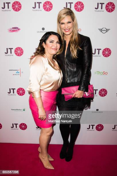 Jasmin Taylor and Verena Wriedt at the JT Touristik party at Hotel De Rome on March 9 2017 in Berlin Germany