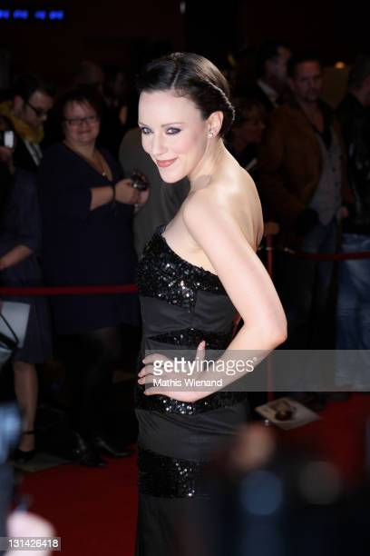 Jasmin Wagner arrives for the Nachhaltigkeitspreis Gala at Maritim Hotel on November 4 2011 in Duesseldorf Germany