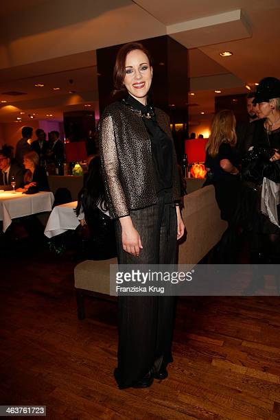 Jasmin Wagner attends the Burda Style Cocktail on January 16 2014 in Berlin Germany