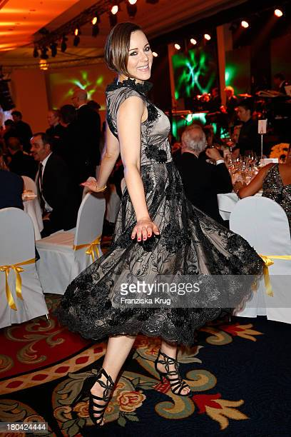 Jasmin Wagner attends the Dreamball 2013 charity gala at Ritz Carlton on September 12 2013 in Berlin Germany