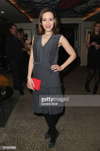 Jasmin Wagner attends the Gala Star Night during the 63rd Berlinale International Film Festival at the Stue Hotel on February 9 2013 in Berlin Germany