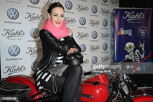 Jasmin Wagner attends the Kiehl's Rocktour charity event in aid of 'Die Arche' on September 27 2012 in Berlin Germany