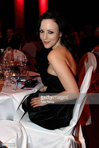 Jasmin Wagner attends the 'LEA Live Entertainment Award 2010' at Color Line Arena on April 15 2010 in Hamburg Germany
