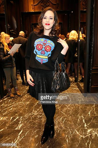 Jasmin Wagner attends the Moncler Boutique Opening on December 10 2013 in Hamburg Germany