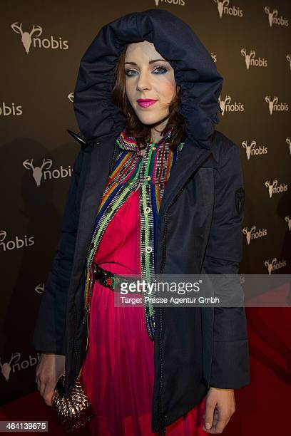 Jasmin Wagner attends the Nobis Fashion Show at Microsoft Berlin on January 15 2014 in Berlin Germany
