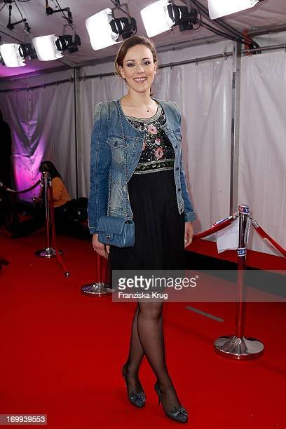 Jasmin Wagner attends the Studio Hamburg Nachwuchspreis 2013 at Thalia Theater on June 4 2013 in Hamburg Germany