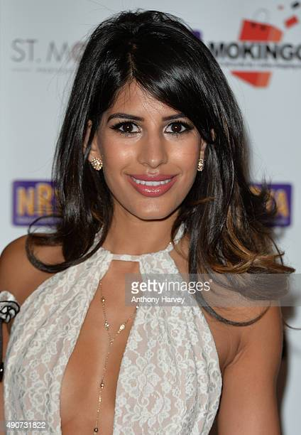Jasmin Walia attends the National Reality TV Awards at Porchester Hall on September 30 2015 in London England
