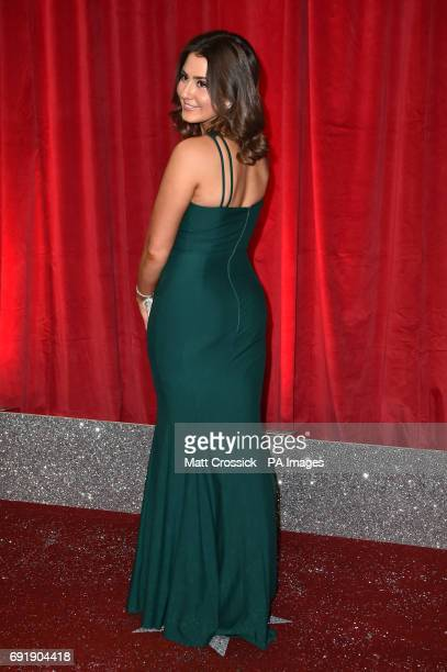 Jasmine Armfield attending the British Soap Awards 2017 at The Lowry Salford Manchester